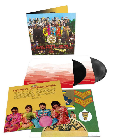 SGT. PEPPER DELUXE VINYL (50th ANNIVERSARY ED.) 2LP