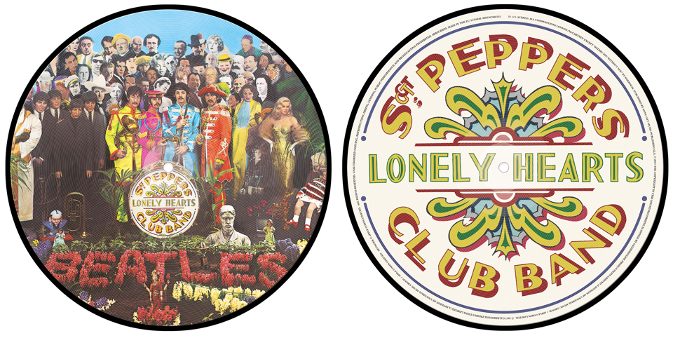 SGT. PEPPER VINYL PICTURE DISC