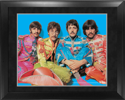 "BEATLES 1967 IMAGE 16"" x 20"" FRAMED PRESENTATION"