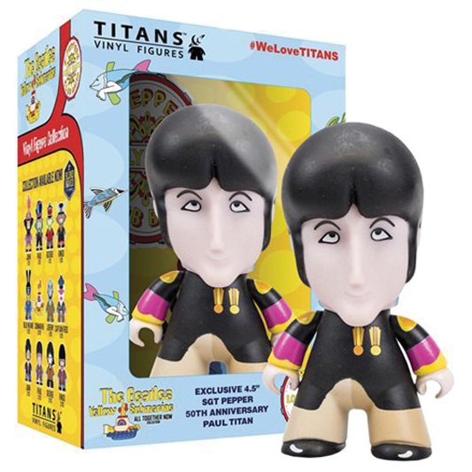 "SGT PEPPER TITAN 4 1/2"" PAUL VINYL"