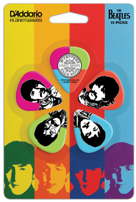 SGT. PEPPER GUITAR PICK SET