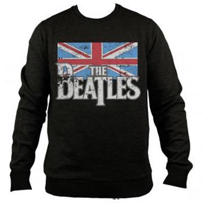 Beatles Logo Uk Flag Crewneck Sweatshirt 5170 36 00