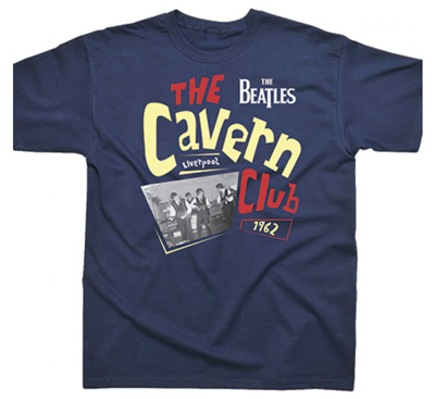 BEATLES CAVERN CLUB NAVY T-SHIRT