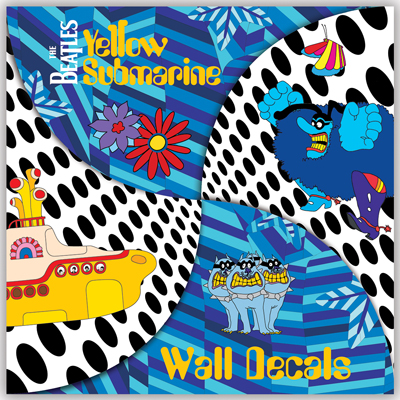 YELLOW SUBMARINE WALL DECALS [7517] - $25.00  Beatles Gifts The Fest for Beatles Fans & YELLOW SUBMARINE WALL DECALS [7517] - $25.00 : Beatles Gifts The ...