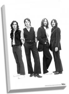"THE BEATLES ICONIC IMAGE 24"" x 36"" CANVAS"