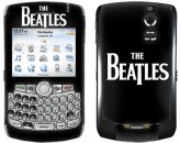BEATLES LOGO BLACKBERRY MUSIC SKIN