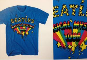 BEATLES MAGICAL MYSTERY TOUR STARS T-SHIRT