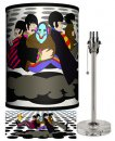 BEATLES YELLOW SUB WITH JEREMY LAMP-CRYSTAL BASE