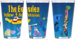 YELLOW SUBMARINE VILLAINS SUBLIMATED PINT
