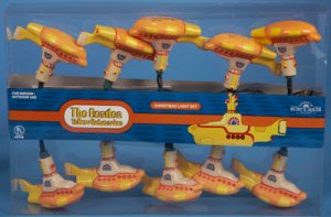 YELLOW SUBMARINES LIGHT SET - Only 3 Left!