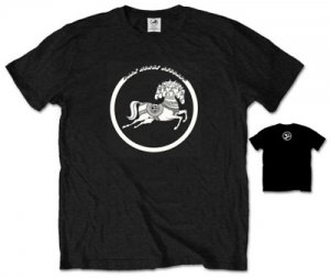 GEORGE HARRISON DARK HORSE BLACK T-SHIRT