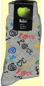 LOVE SOCKS GRAY - WOMEN'S