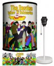BEATLES YELLOW SUB STROLLING LAMP-WHITE SPORT BASE
