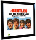 BEATLES ALL YOU NEED IS LOVE (US) LITHOGRAPH - FRAMED