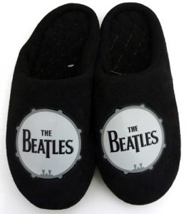 BEATLES DRUMHEAD LOGO CHILD'S SLIPPERS
