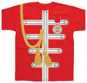 Sgt Pepper Red Uniform Sublimation Tee 5733 32 50