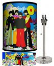 BEATLES YELLOW SUB WITH INSTRUMENTS LAMP-CRYSTAL BASE