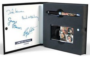 BEATLES LET IT BE COLLECTIBLE PEN SET