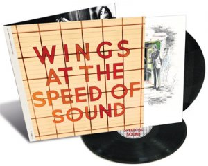 WINGS AT THE SPEED OF SOUND 2 LP VINYL
