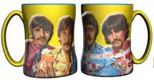 SGT PEPPER 14 OZ RELIEF MUG