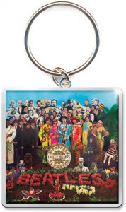 SGT PEPPER METAL KEY CHAIN