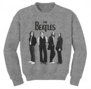 BEATLES ICONIC PHOTO CREWNECK SWEATSHIRT