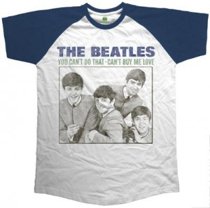 BEATLES CAN'T BUY ME LOVE RAGLAN TEE