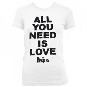 FITTED FEMME SLIM CUT ALL YOU NEED IS LOVE