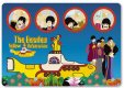 YELLOW SUBMARINE & PORTHOLES MOUSE MAT