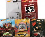 SET OF FIVE BEATLES HOT WHEELS