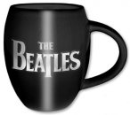 BEATLES LOGO OVAL 16OZ BLACK MUG