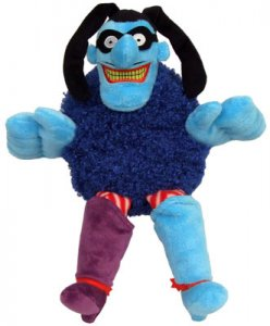 BEATLES BLUE MEANIE PLUSH TOY