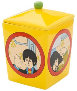 BEATLES YELLOW SUBMARINE COOKIE JAR