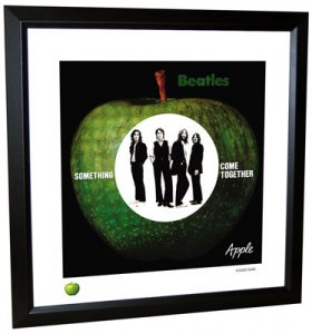 BEATLES COME TOGETHER (VERSION 2) LITHOGRAPH - FRAMED