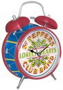 BEATLES SGT PEPPER'S TWIN BELL ALARM CLOCK