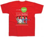 CHILD A IS FOR APPLE RED T-SHIRT - Large - One Left