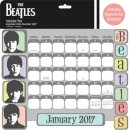 HARD DAY'S NIGHT 2017 DIE-CUT CALENDAR PAD w/Magnets