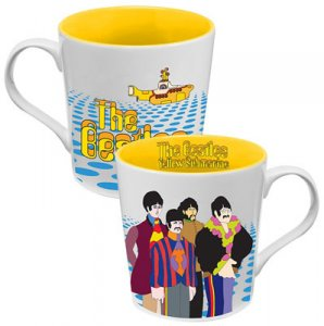 BEATLES YELLOW SUBMARINE 12 OZ CERAMIC MUG