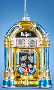 JUKEBOX GLASS ORNAMENT