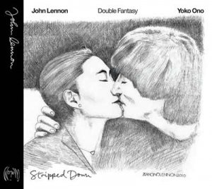 NOT SIGNED - DOUBLE FANTASY STRIPPED DOWN 2 CD