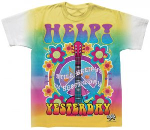 BEATLES HELP/YESTERDAY SUBLIMATION T-SHIRT