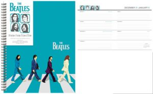 2018 ABBEY ROAD WEEKLY/MONTHLY PLANNER CALENDAR