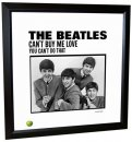 BEATLES CAN'T BUY ME LOVE (US) LITHOGRAPH - FRAMED