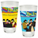 YELLOW SUBMARINE 16 OZ SET OF 2 LASER DECAL GLASSES