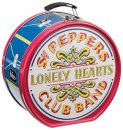 THE BEATLES SGT. PEPPER'S DRUM SHAPED TIN TOTE