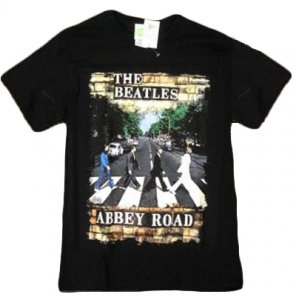 BEATLES ABBEY ROAD 2 SIDES ON ONE