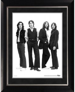 "BEATLES 1969 IMAGE 11"" x 14"" FRAMED"