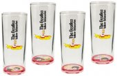 YELLOW SUBMARINE 4 GLASS SET