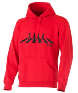 ABBEY ROAD RED HOODED SWEATSHIRT
