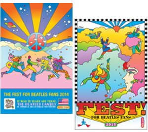 PETER MAX 2014 & 2015 FEST POSTERS